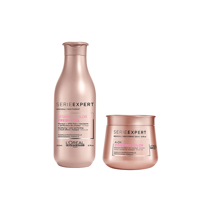 L'Oréal Professionnel Vitamino Color Σαμπουάν 300ml+Μάσκα 250ml christmas offers   l or al professionnel   περιποιηση   βαμμένα μαλλιά   l oreal