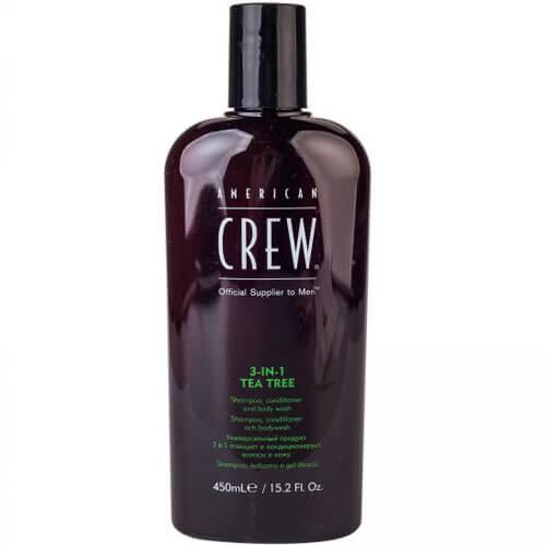 American Crew Tea Tree 3-1 Shampoo-Conditioner-Body Wash 450Ml