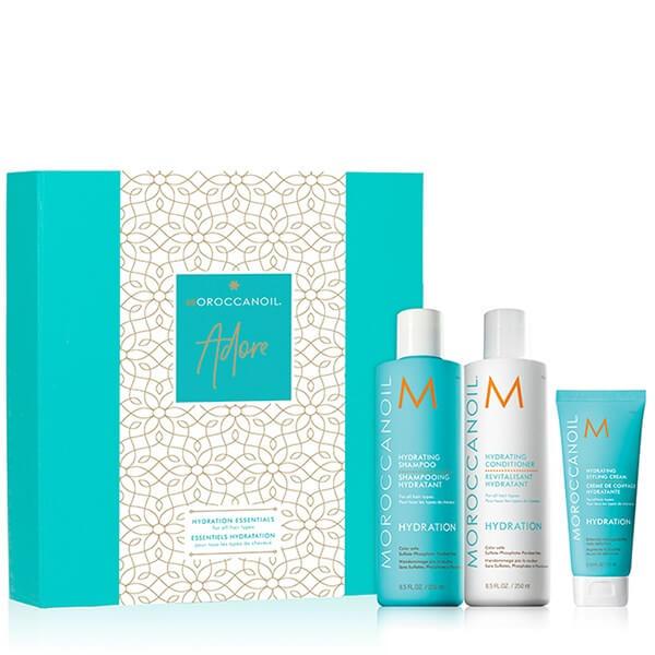 Moroccanoil Hydrating Adore Set (Hydrating Shampoo 250ml+ Hydrating Conditioner2 christmas offers   moroccanoil   styling   περιποιηση   για όλους τους τύπους μα