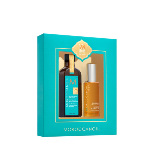 Moroccanoil Oil Treatment 100ML   Dry Body Oil 50ml(10 years Special  Edition) 05b6e7900a8