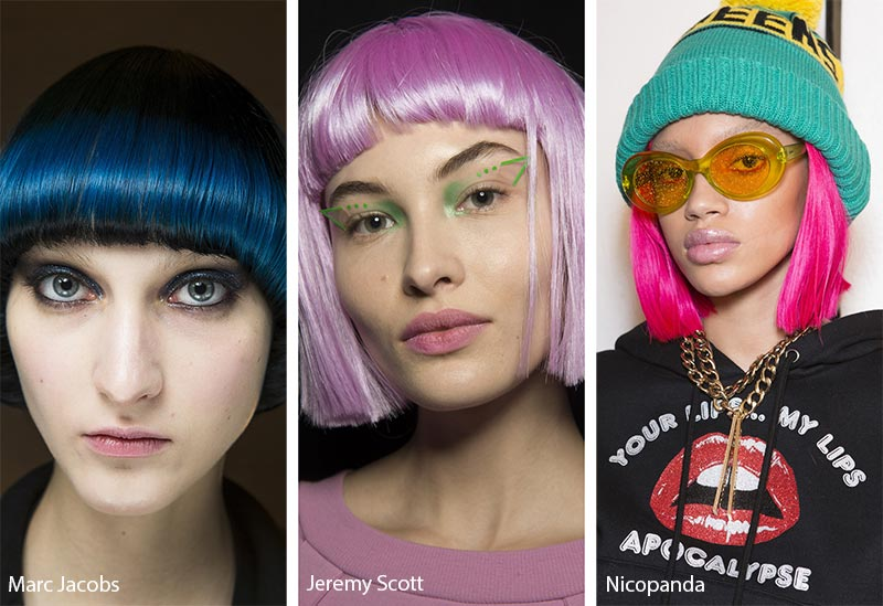 Παστέλ καρε/ Pastel Colorful Bob Cut - Marc Jacobs - Jeremy Scott - Nicopanda