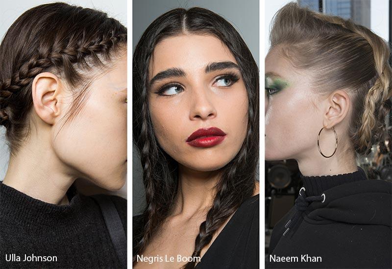 «Πολυμορφικές» Πλεξούδες - τάσεις στα χτενίσματα - Ulla Johnson - Negris Le Boom - Naeem Khan