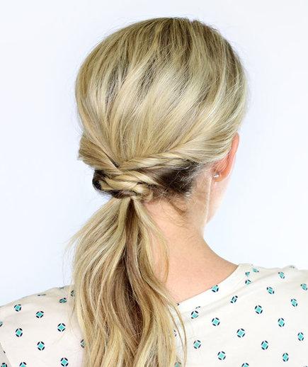 Χτενίσματα για το Γραφείο - Ξανθά μαλλιά - Wavy Ponytail