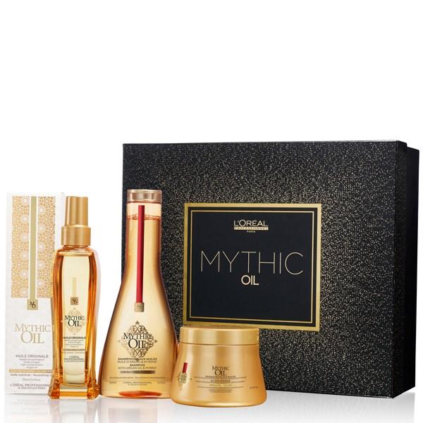 L Oréal Professionnel Mythic Oil Set Offer ( Σαμπουαν για χοντρα μαλλια  250ml + Μασκα για χοντρα μαλλια 200ml+Ελαιο 100ml) 186416607f4