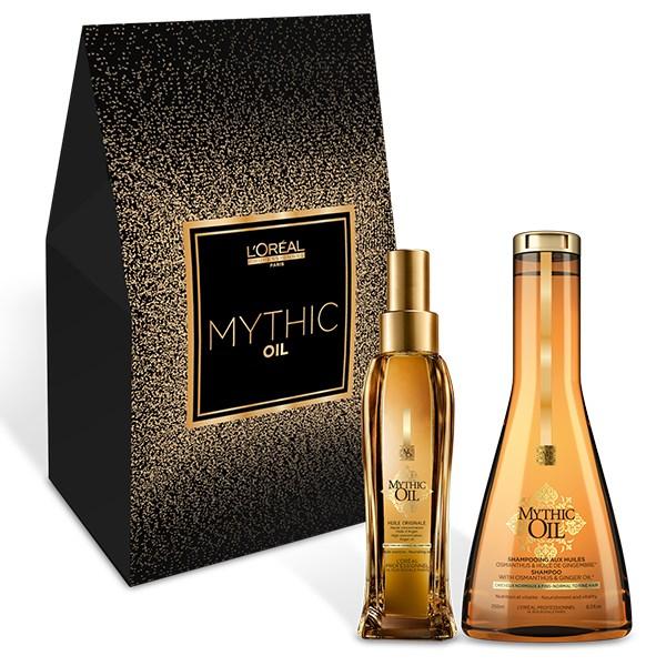 L'Oréal Professionnel Mythic Oil Set Offer(Huile Originale 100Ml+Shampoo Για Λεπτά Προς Κανονικά Μαλλιά 250Ml)