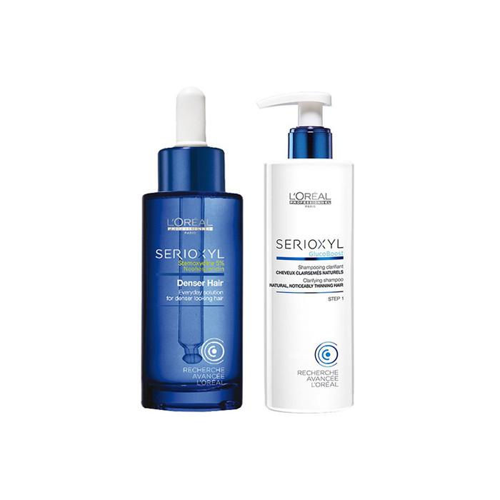 L'Oréal Professionnel Serioxyl Offer(Shampoo Για Φυσικά Μαλλιά 250Ml+Denser Hair 90Ml)