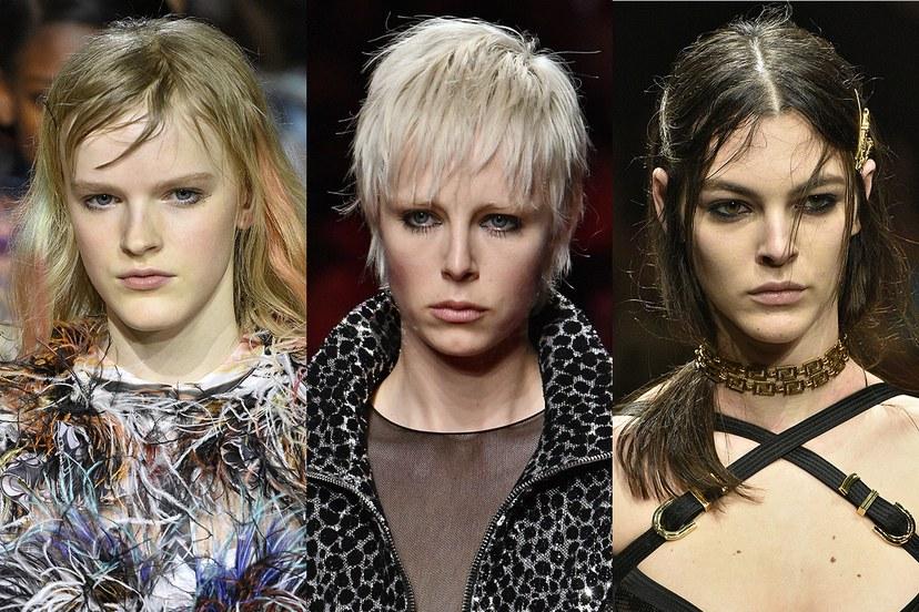 Χτενίσματα χειμώνας 2020, τσαλακωμένα μαλλιά και ροκ εμφάνισεις