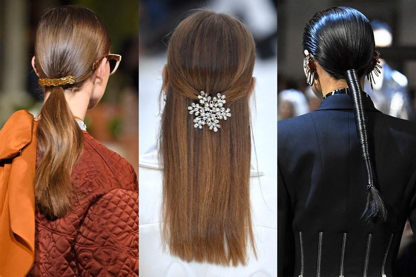 Χτενίσματα χειμώνας 2020, αξεσουάρ στα μαλλιά
