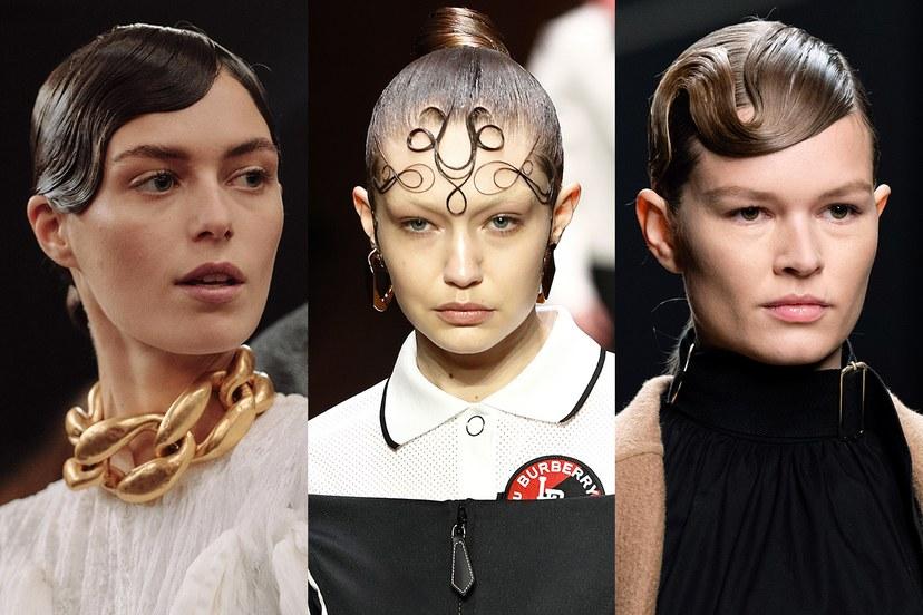 Χτενίσματα χειμώνας 2020, περίτεχνες φράντζες και σχέδια στα μαλλιά