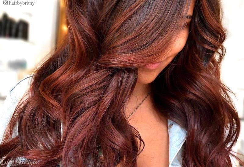 Αποχρώσεις τζίντερ και καραμέλας είναι φετινή τάση για το χρώμα στα μαλλιά Φθινόπωρο 2019 - Χειμώνας 2020