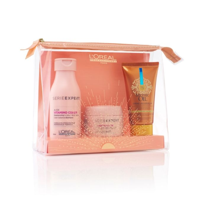 L'Oreal Professionnel Vitamino Color Travel Set (Σαμπουάν 75ml+Μάσκα 75ml+ Κρέμα 50ml)