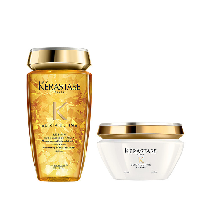 Kerastase Elixir Ultime Offer(ΣΑΜΠΟΥΑΝ LE BAIN 250ML+ΜΑΣΚΑ LE MASQUE 200ML)