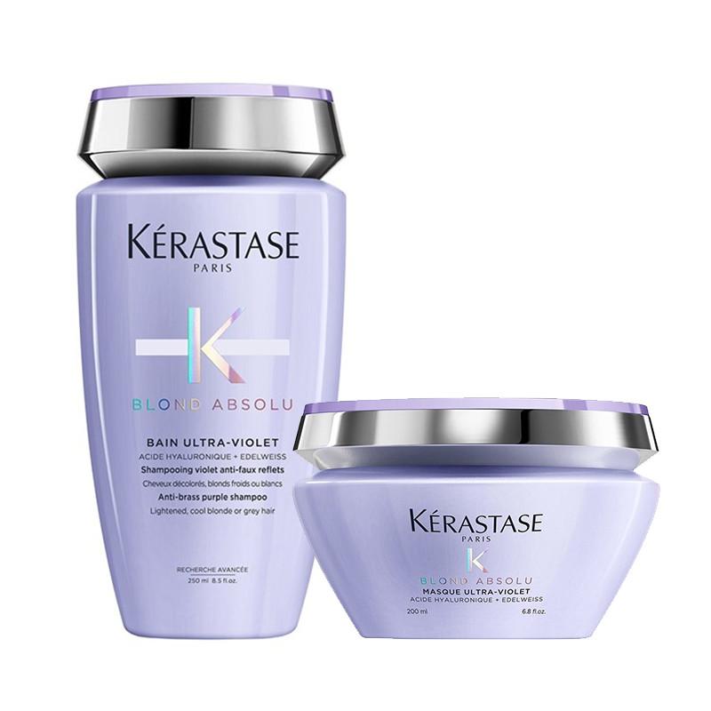 Kerastase Blond Absolu Offer(Bain Ultra-Violet 250ml+Masque Ultra Violet 200ml)