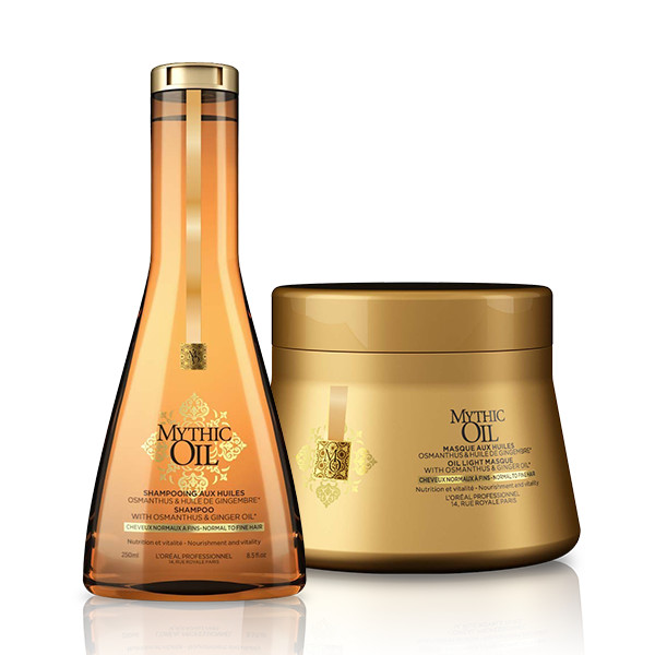 LOreal Professionnel Mythic Oil Offer ( Σαμπουάν 250ml + 200ml)