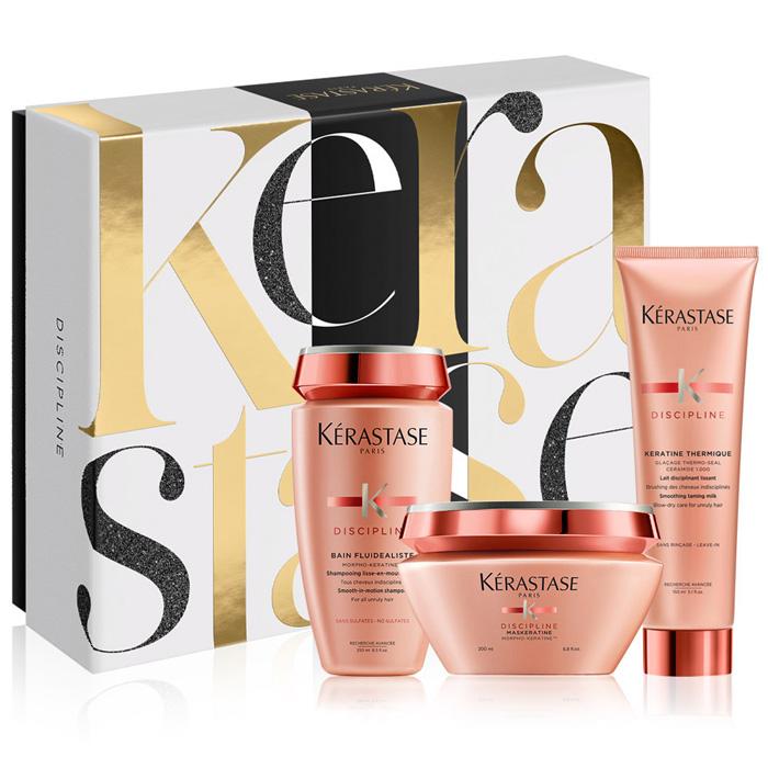 Kerastase Discipline Gift Box(Σαμπουάν 250ml+μάσκα 200ml+Θερμοπροστατευτικό 150ml)
