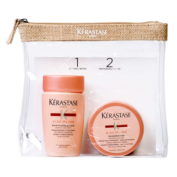 Kerastase Discipline Travel Set (Σαμπουάν 80ml+ Μάσκα 75ml)