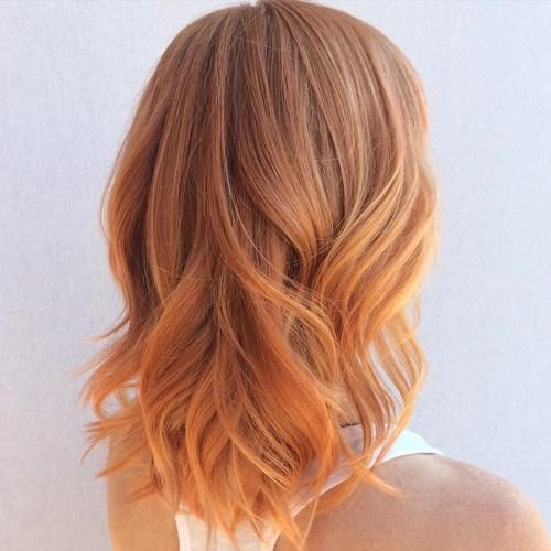 Strawberry Blond Χρώμα Μαλλιών
