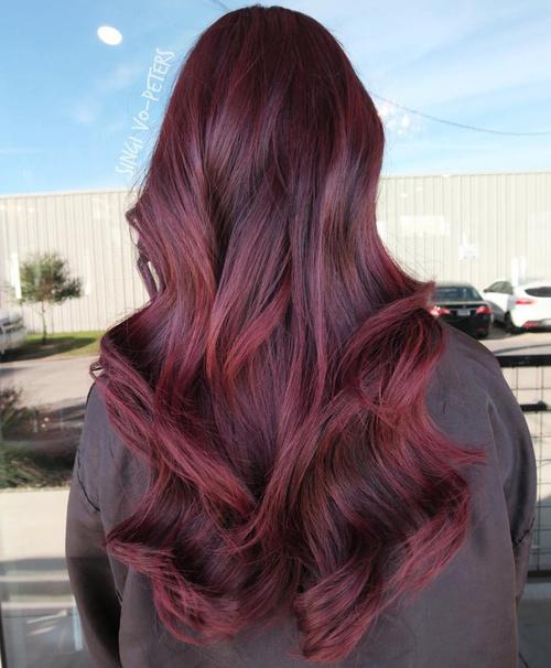Shiraz Red Χρώμα Μαλλιών