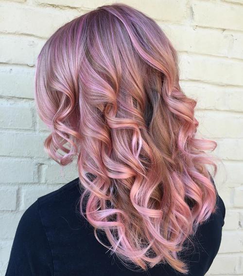 Violet Pink Χρώμα Μαλλιών