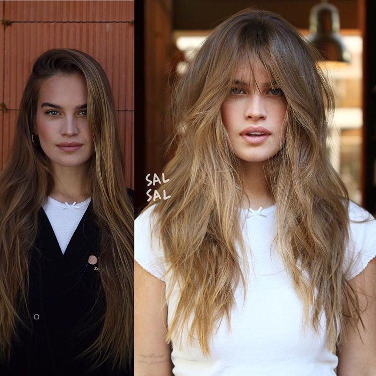 Hair looks 2021 για Μακριά μαλλιά-Long cuts